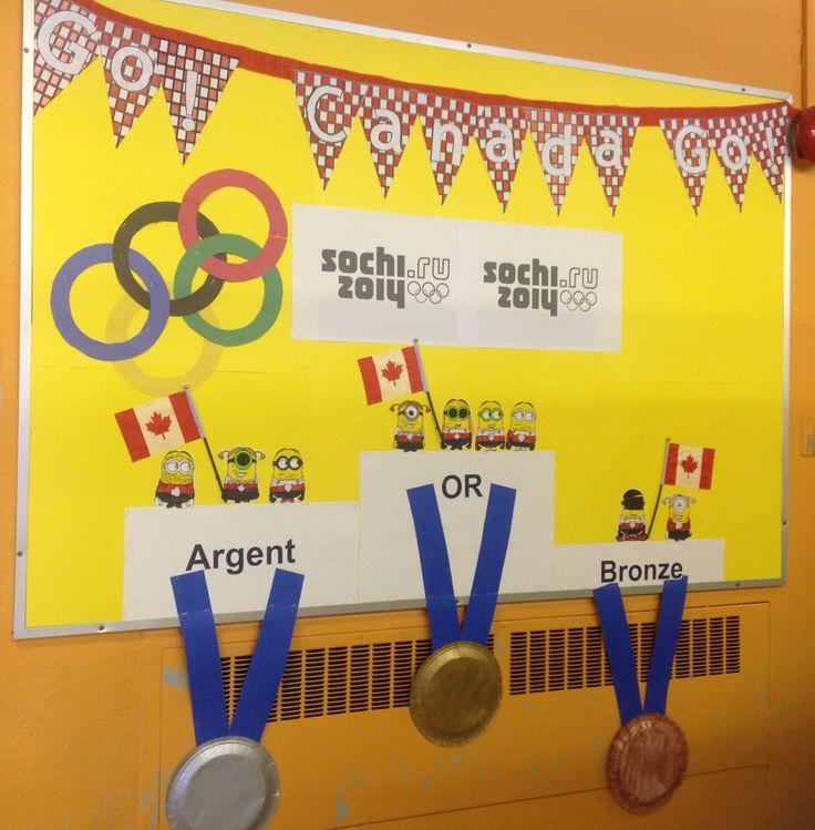 À l'école :Tableau des médailles canadiennes Sochi 2014 | Olympics, Bronze