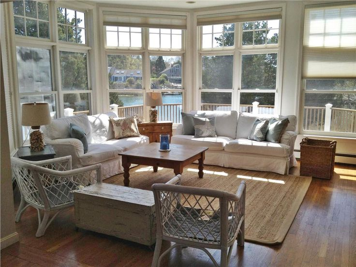 Spacious And Bright Family Room With Water Views All Around New Seabury, Cape  Cod