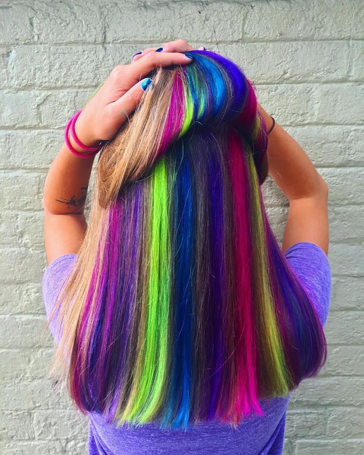 Contemporary hair dye trends have women transforming their natural-colored locks into mermaid-inspired masterpiecesand striking palettes of silver. These unconventional shades are undoubtedly eye-catching, likely to get anyone noticed while walking down the street. For those who want to experiment with bold locks but also want to appear inconspicuous, Hidden Rainbow Hair is the ideal trend. …