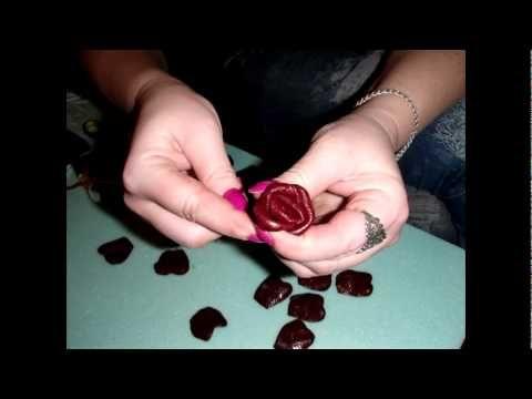 Цветы из кожи своими руками.Розы и поделки для украшений (фото,видео)