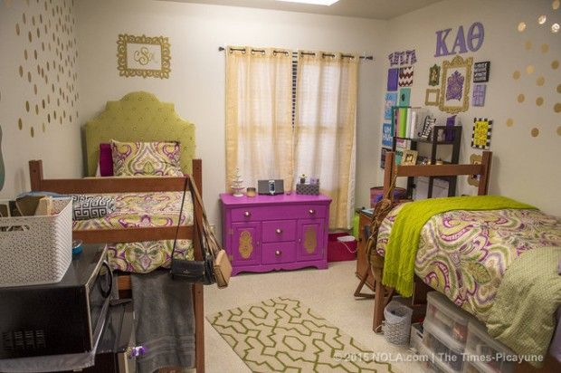 Living Big In Small Spaces Lsu Students Showcase Dorm