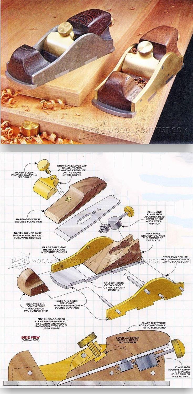 Custom Infill Block Plane - Hand Tools Tips and Techniques | WoodArchivist.com