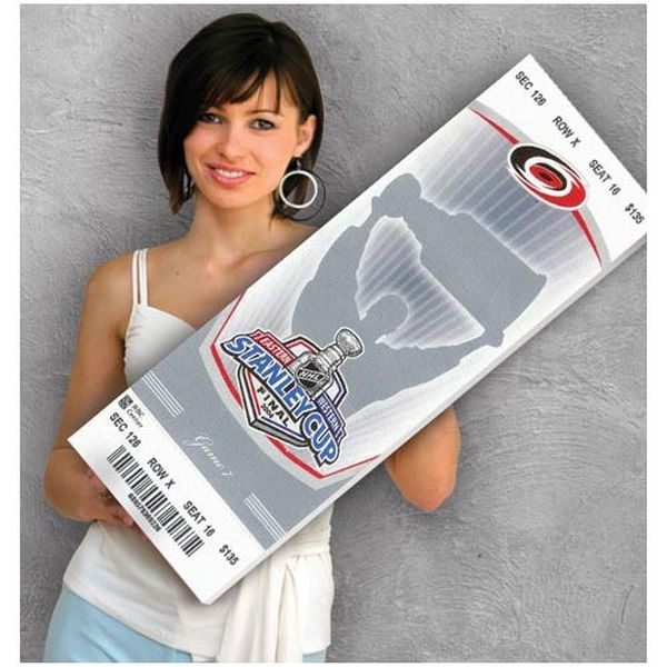 Carolina Hurricanes 2006 Stanley Cup Mega Ticket- Game 7 - $79.99