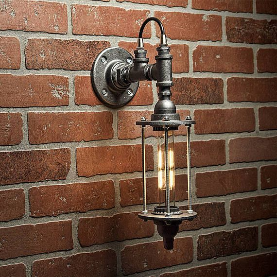 25 best Pipe lighting ideas on Pinterest | Industrial wall art, Industrial wall lights and