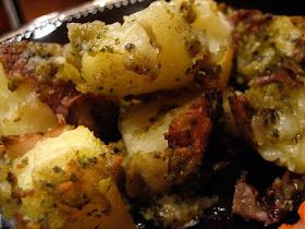 Indulge & Enjoy: Crispy Pesto Potatoes