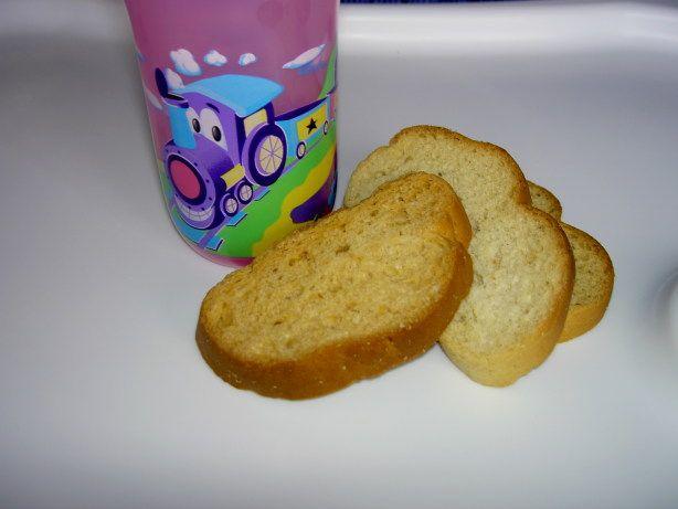 Zwieback Toast (Teething Cookies)