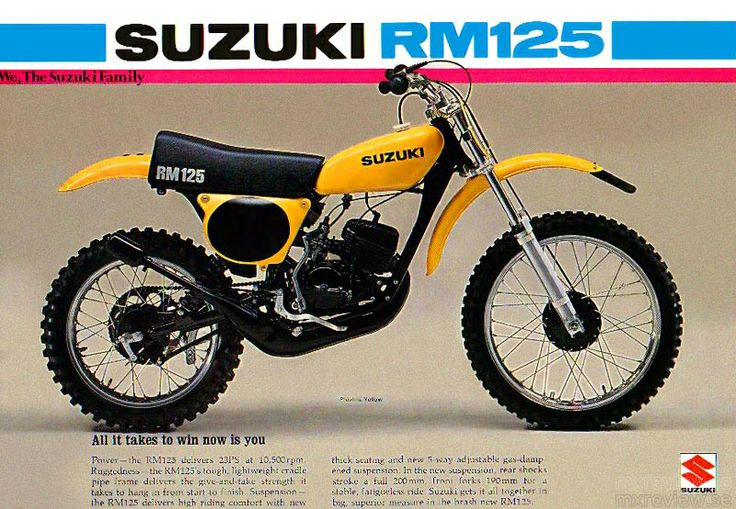 Suzuki Rm  Manual
