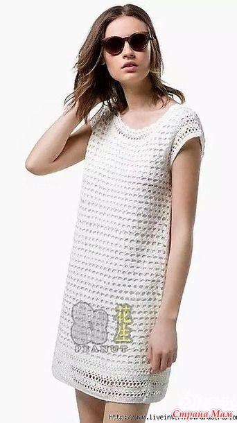 Это платье вяжется просто а смотрится нежно и изящно. Тепла вам!!! Пряжа хлопок. Крючок 2.0. http://www.360doc.com/