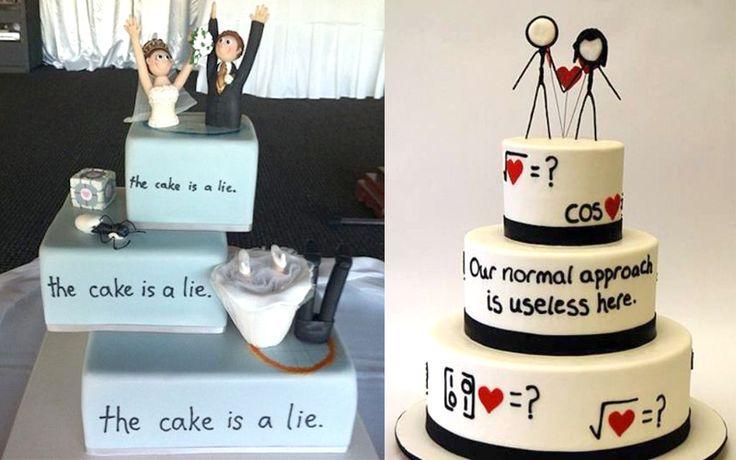 Tujuh Desain Kue Pernikahan yang Aneh dan Anti-mainstream