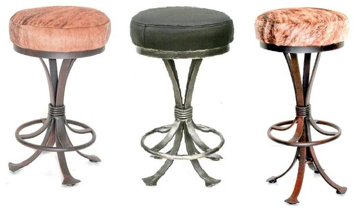 The 17 best images about Forged Furniture Collection on  : 1d1f7bd7c7dc05418a5f90d5715b1c1c metal bar stools furniture collection from uk.pinterest.com size 736 x 444 jpeg 76kB