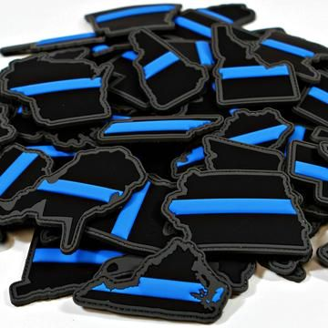 """""""Every State in Thin Blue Line"""" Patch Series"""