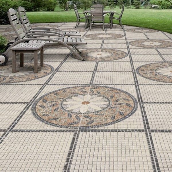 Mosaic floor tile | Buy great value tiles at Direct Tile Warehouse