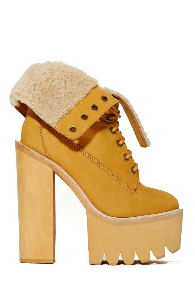 Jeffrey Campbell In Charge Platform Boot - Heels | Lace-Up | Boots | Jeffrey Campbell | Shoes