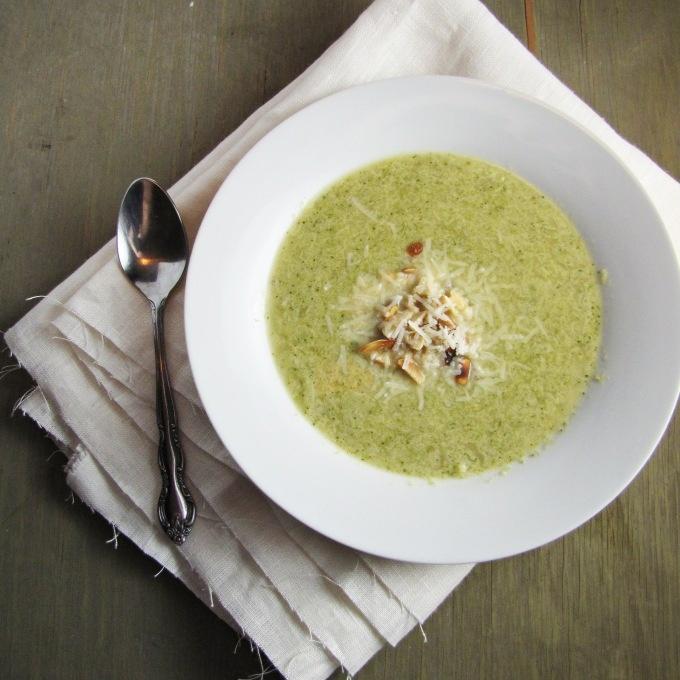 Broccoli and edamame soup | A Big Bowl of Comfort | Pinterest