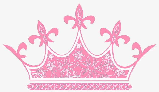 Pretty Pink Crown Floral Cards Design Crown Clip Art Pink Crown