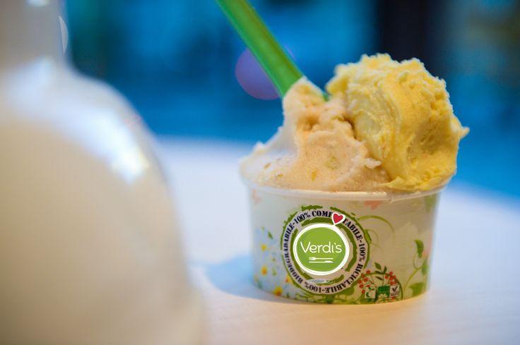 Flegetonte non ti temiamo! Anzi, ti invitiamo a mangiare uno dei nostri gelati stagionali a base di acqua, adatti per celiaci e vegani, così ti rinfreschi anche tu ; ) #gelato #icecream #verdis #sanoappetito #foody #expo2015 #milan #love #food #sanoappetito #good #milano #foodie #foodlover