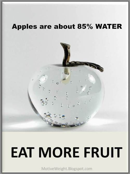 Did you know that apples are about 85% water? Amazing fact #paleo #information #lifestyle paleoaholic.com/bootcamp