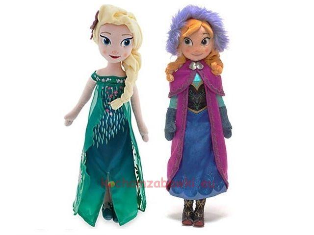 Pluszowa Elsa Anna Princess Zelda Disney Characters Character