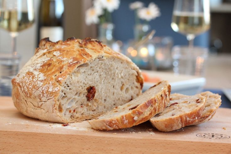 No knead tomato bread