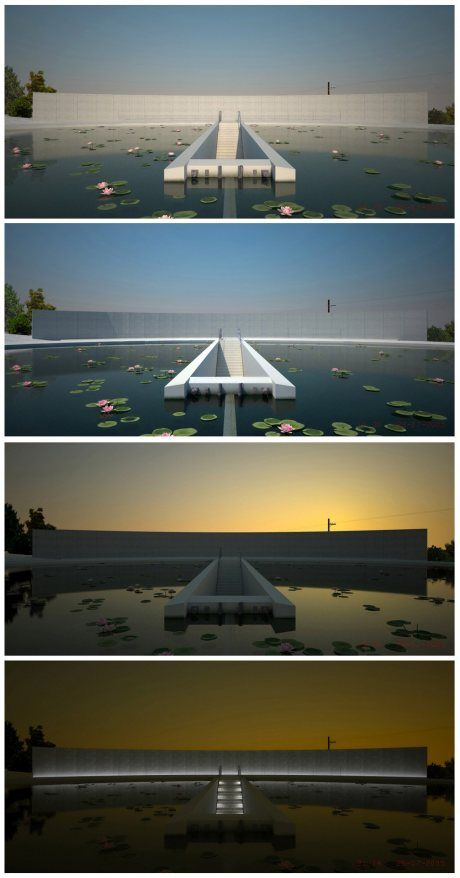 Tadao Ando sensei - Water Temple
