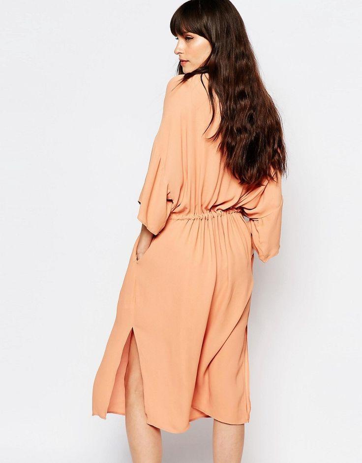 Image 2 ofJust Female Ruchi Midi Dress