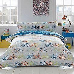 Ben de Lisi Home - Multicoloured 'Racing Bikes' bedding set