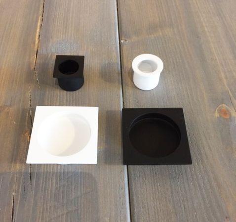 Infreesgrepen in wit en zwart