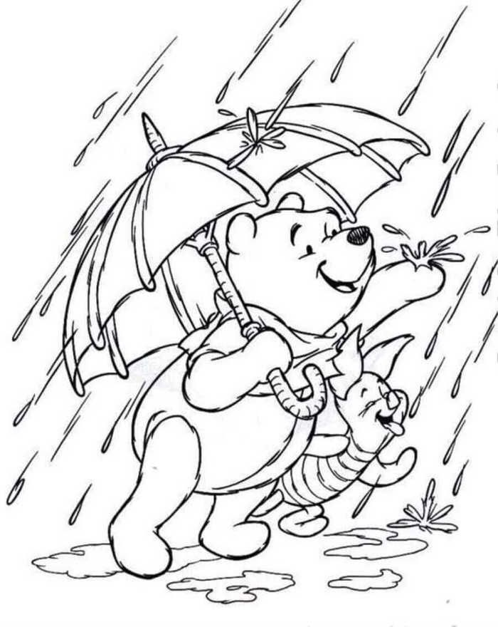 Rainy Day Coloring Pages Collection For Kids Free Coloring Sheets Coloring Pictures Cool Coloring Pages Disney Coloring Pages