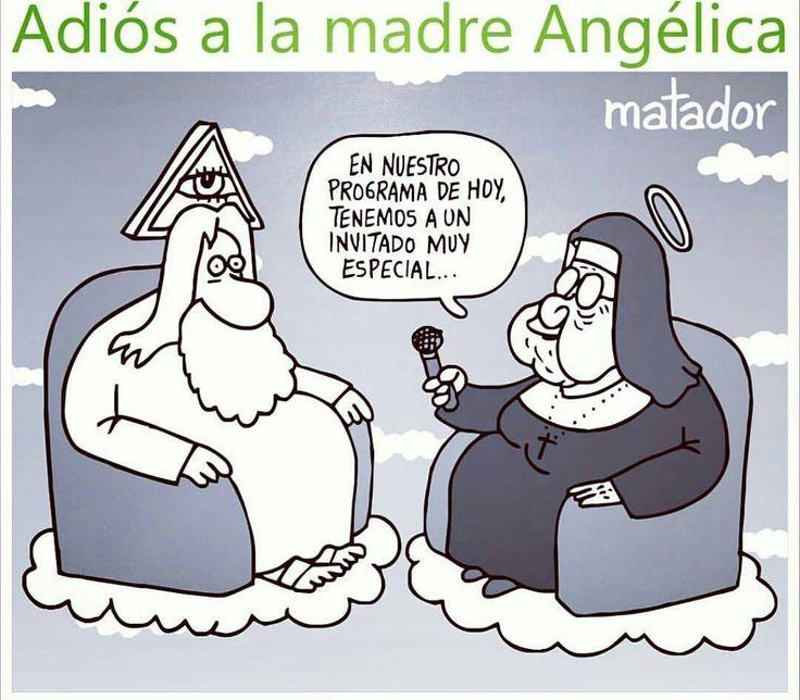 @Regrann VIA NUESTROS AMIGOS -->> @aciprensa <<-- ⛪ -  El caricaturista Matador de Colombia compartió esta pieza tras la muerte de la #MadreAngelica.  Gracias por tanto cariño. #Regrann #Catolico
