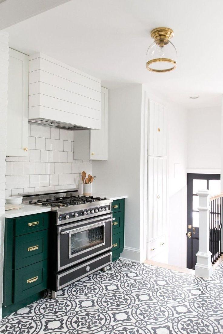 12 Incredible Farmhouse Backsplash Fixer Upper Ideas Interior Design Kitchen Kitchen Interior Green Kitchen Cabinets