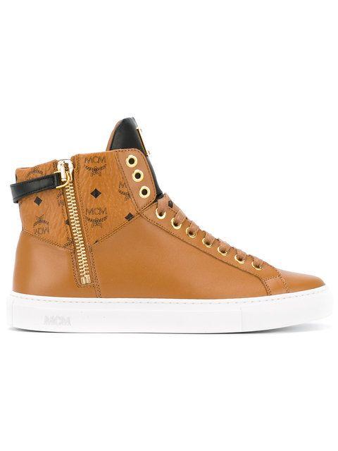 MCM Lace Up Boots. #mcm #shoes #boots