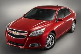 2013 Chevrolet Malibu Eco, awarded a safety award by the American Insurance Institute for Highway Safety.