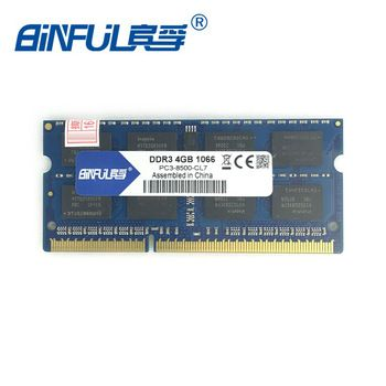Binful DDR3 2GB/4GB 1066MHz 1333MHz 1600MHz PC3-8500 PC3-10600 PC3-12800 SODIMM Memory Ram memoria ram For Laptop Notebook   Price: 26.16 USD