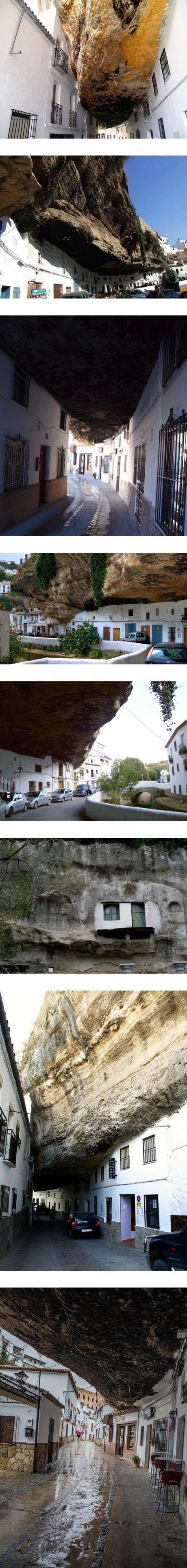 living under a rock... - (town)(spain) - #under #rock #town #spain