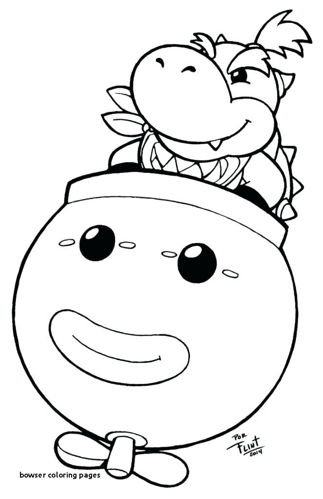 Bowser Coloring Pages Coloring Pages Jr Coloring Pages