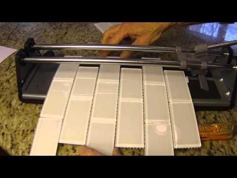 how to cut tile fit outlet