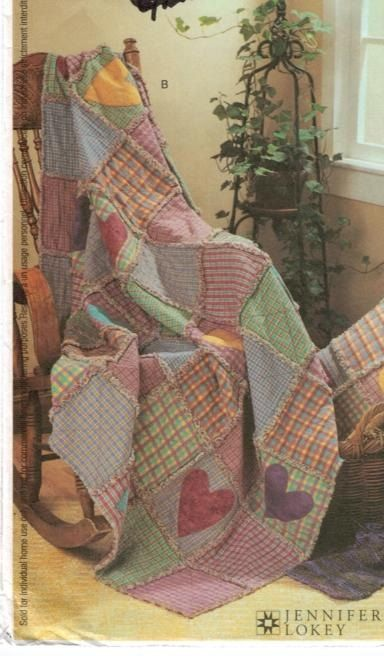 27 Best Rag Quilts Images On Pinterest Rag Quilt Patterns Sewing