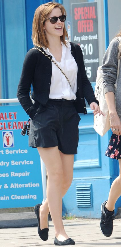 Emma Watson always looks so put together!