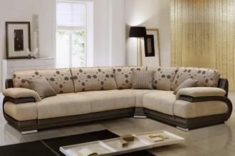 Угловой диван Валлетта в ткани