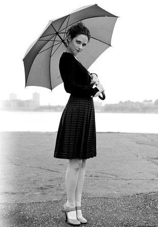 Zooey Deschanel- Fashionable and inspirational.