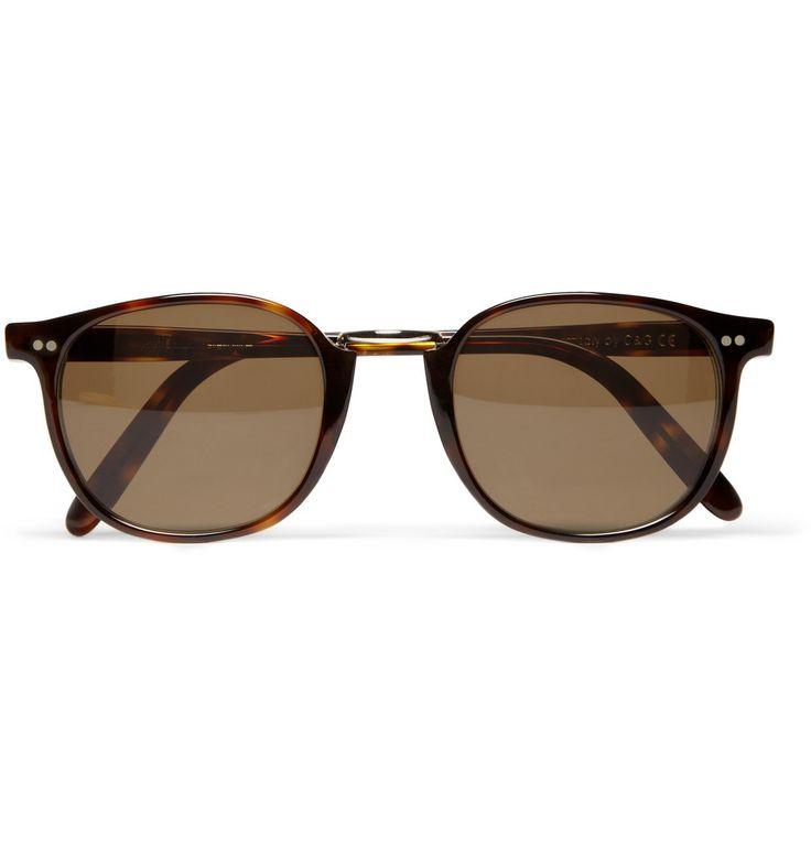 Des lunettes de soleil Chic-Net coloré miroir Wayfarer 400 UV transparente tricolore orange, sportif