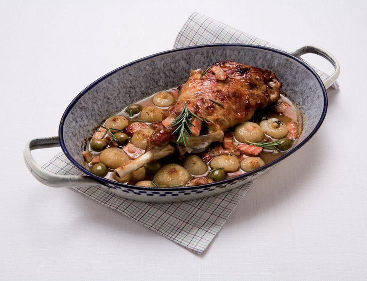 Cosciotti d'agnello marinati ricetta