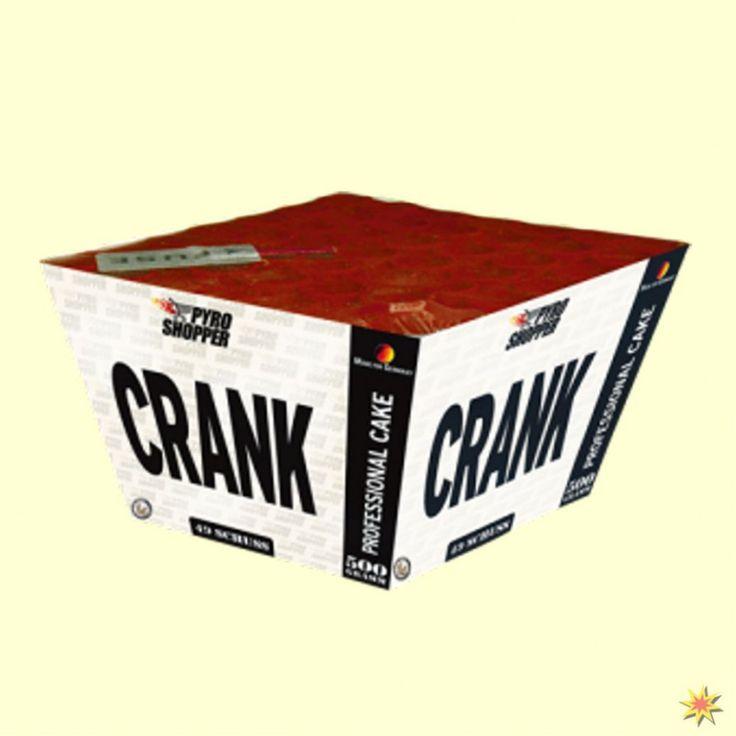 Crank- Feuerwerksbatterie mit 40 Schuss