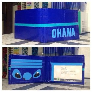 ...ohana means family and family means no wallet gets left behind... i love this wallet so much