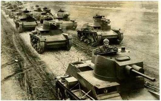 7TP light tanks.