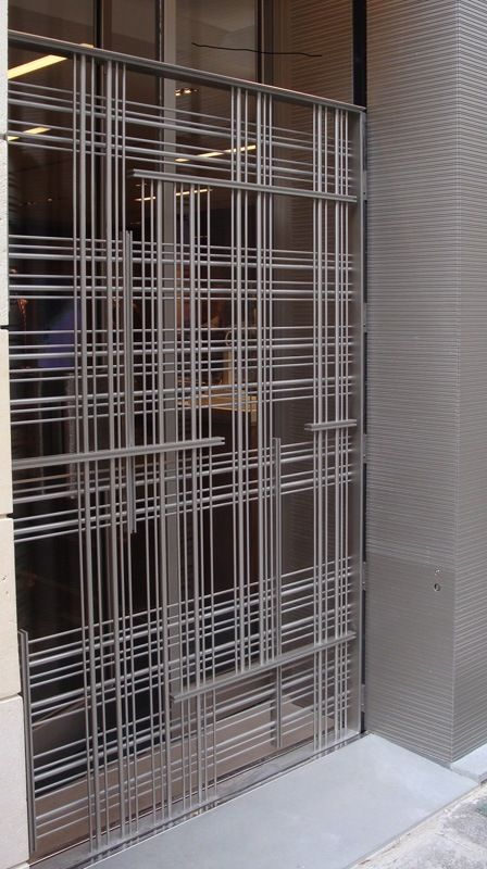 Picture of Zegna Paris balustrades, made-on-measure hotel furniture