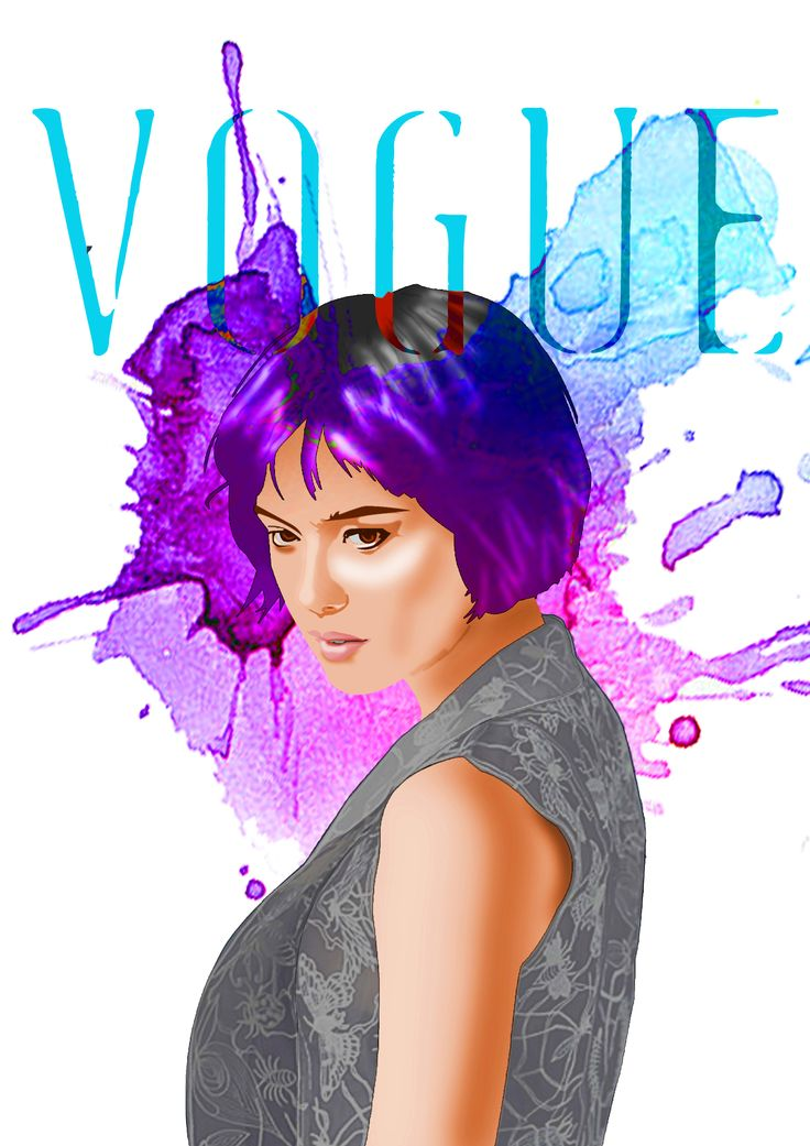 Illustration for Vogue - Renata Dantec -
