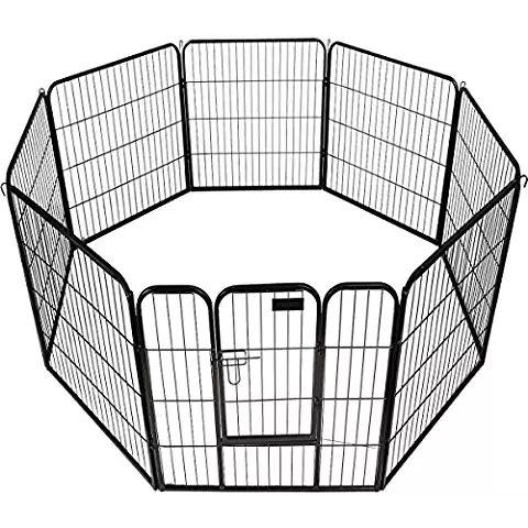 8 Panel Heavy Duty Pet Playpen #PetSupplies #Playpen #Dogs
