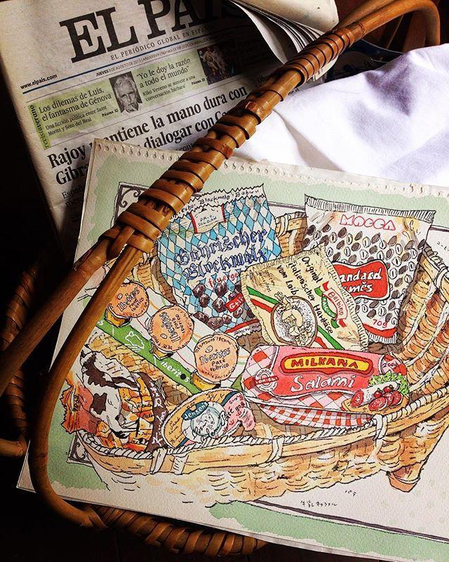 ドイツ&チェコ土産 Souvenir of Garmany&Czech  現地での楽しみはスーパーで絵になるパッケージを買うこと♪  #souvenir #germany #czech #package #design #calamel #pate #sweet #salami #candy #ドイツ土産 #チェコ土産 #パッケージ #デザイン #キャラメル #キャンディー #パテ #サラミ