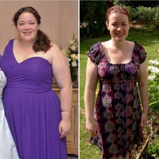 Женщина похудела на 70